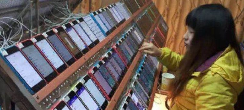 This Is Allegedly How People Hack App Store Rankings In China