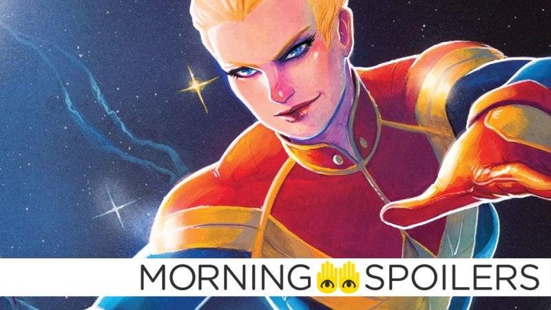 Samuel Jackson Offers A Sneak Peek At Captain Marvel In Battle Mode