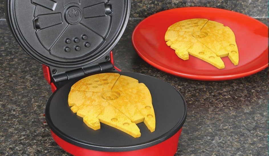 I Only Want To Eat Millennium Falcon Waffles For The Rest Of My Life