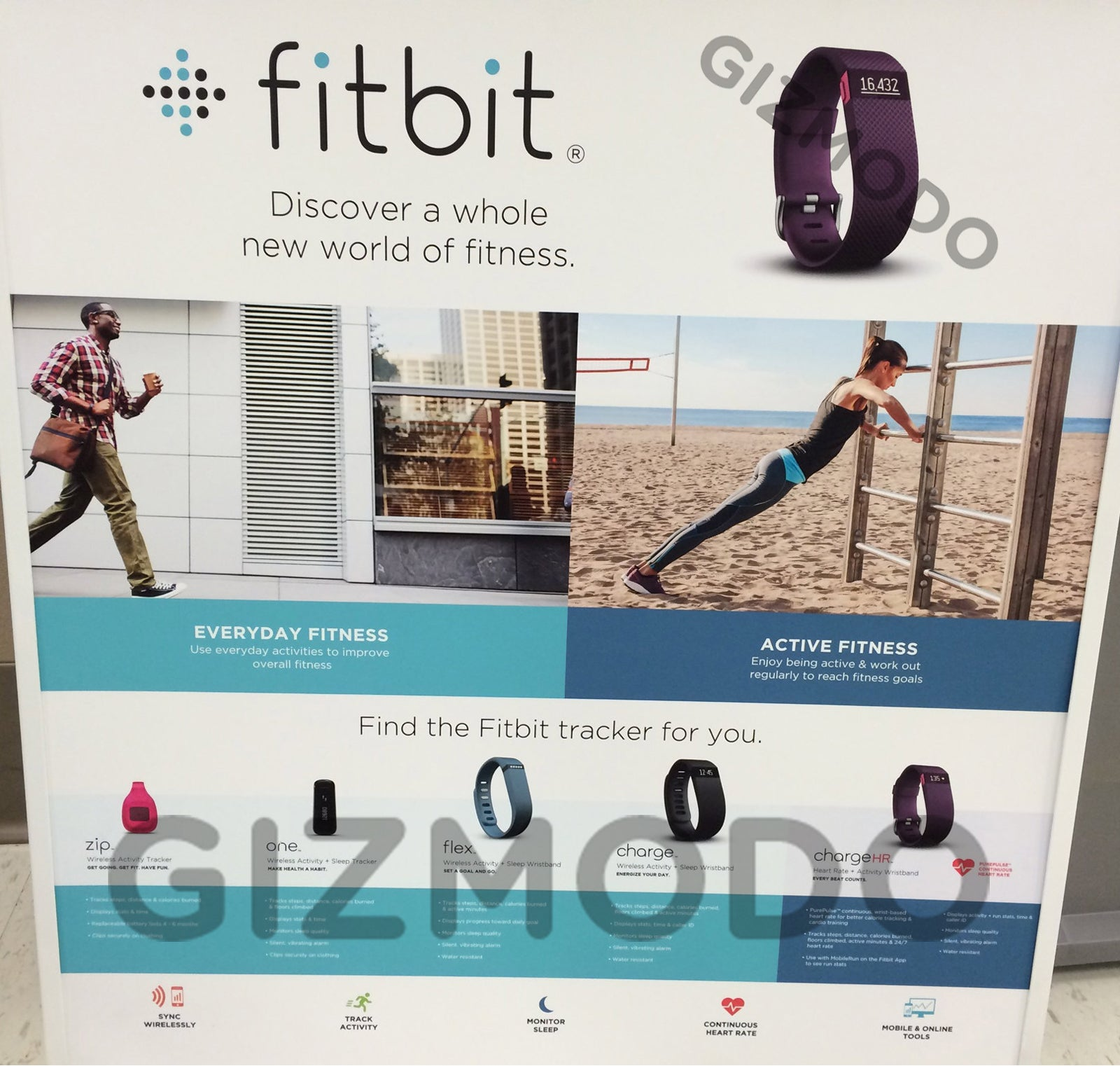 Exclusive: Fitbit Charge and Charge HR Images and Full Features List