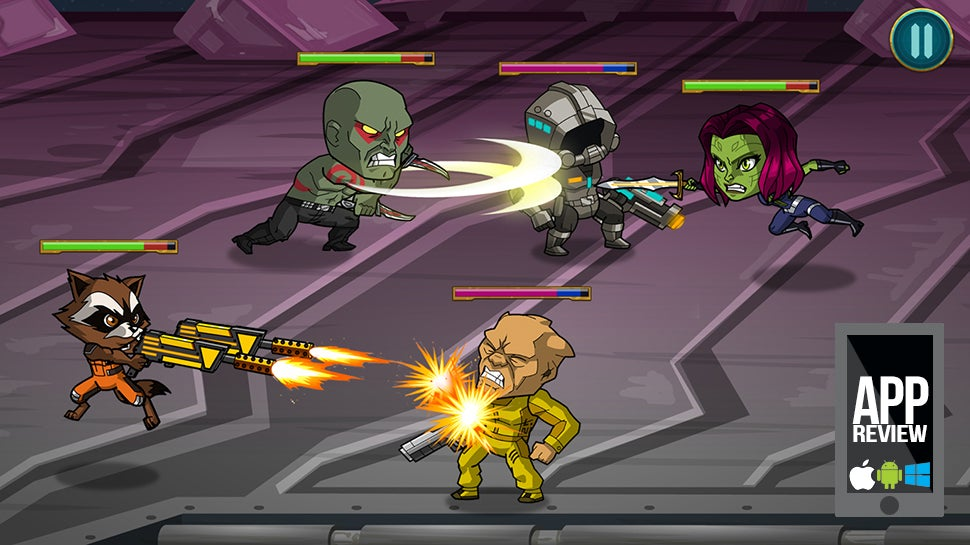 App Review: The Guardians Of The Galaxy Game Doesn't Suffer Free-To-Pay Nonsense