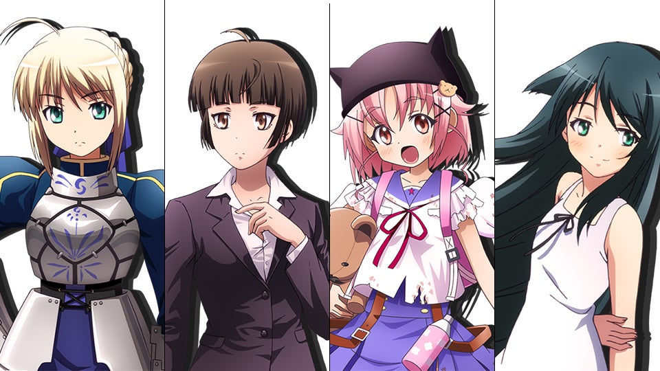 Anime Characters Games : All the anime manga novel and game characters in