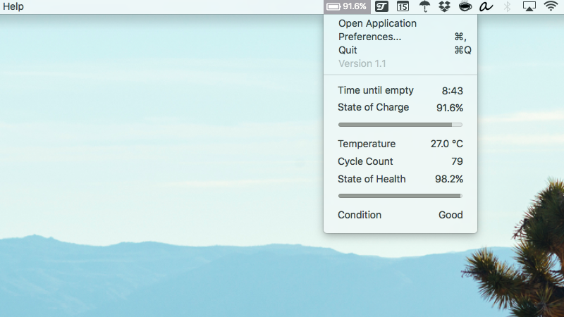 How To Bring Back A 'Time Remaining' Battery Life Indicator To Your MacBook