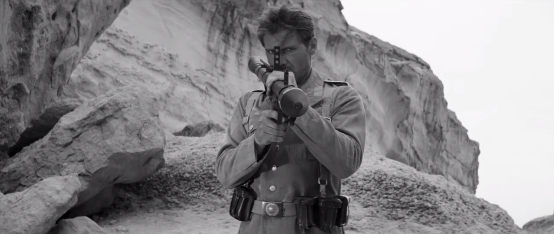 Steven Soderbergh made Raiders of the Lost Ark into a rad silent film