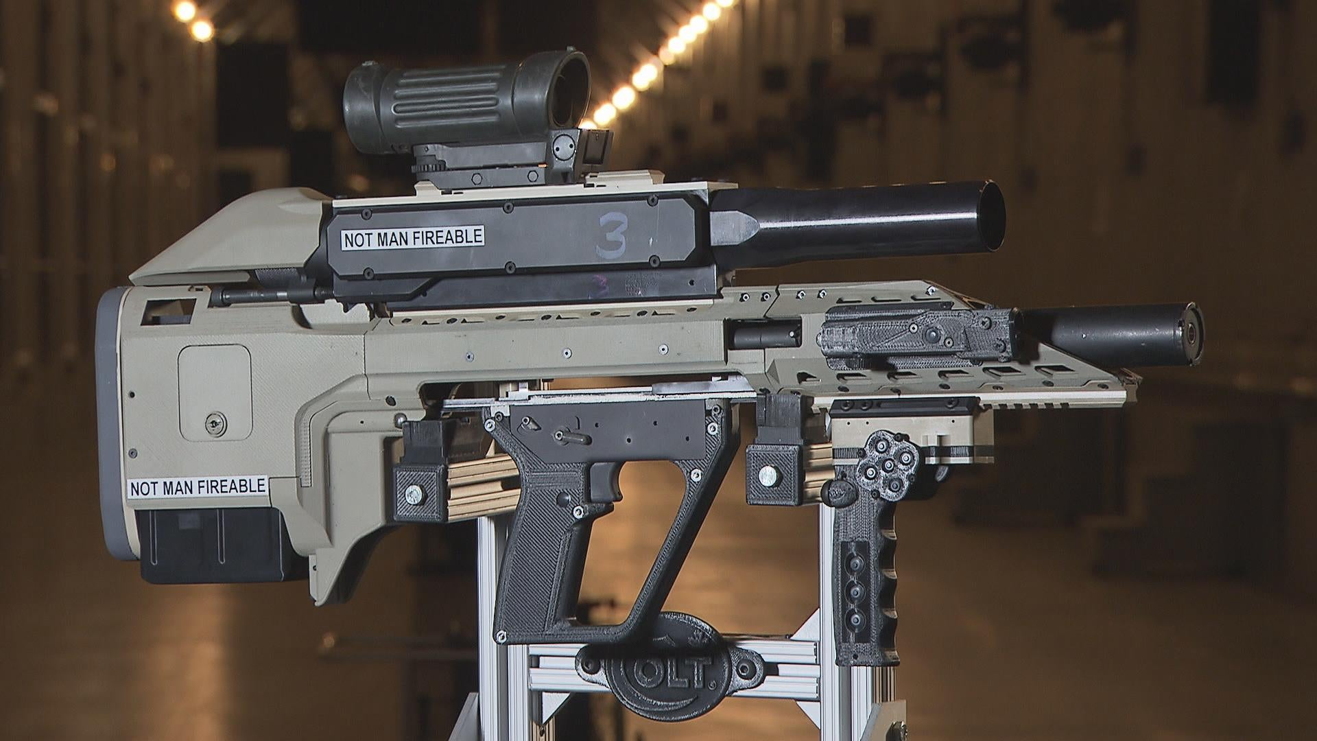 This Scifi Smart Gun Could Be the Colt .45 of the Future