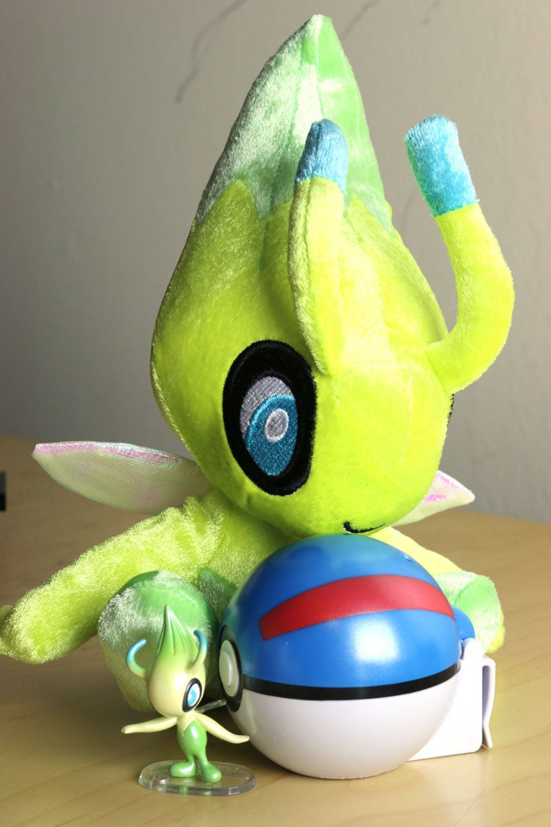 how to catch celebi in emerald
