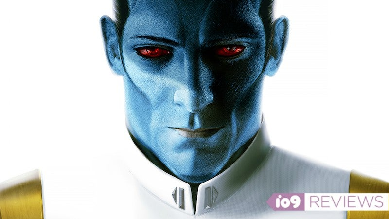 I Loved Thrawn So Much I Am Looking For Some Blue Face Paint And A White Uniform