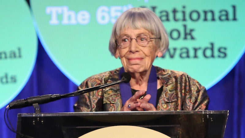 Ursula K. Le Guin Wants Everyone To Know The Huge Difference Between 'Alternative Facts' And Fiction