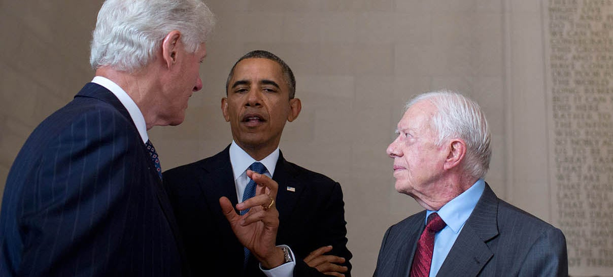 Jimmy Carter: I Think the NSA Is Spying on Me