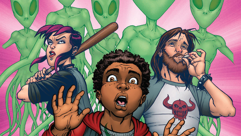 In Image's New ComicBurnouts, Teens Get High To Save The World