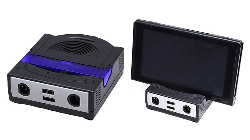 GameCube-Inspired Dock Brings Old School Controllers And Wireless Headphones To Switch