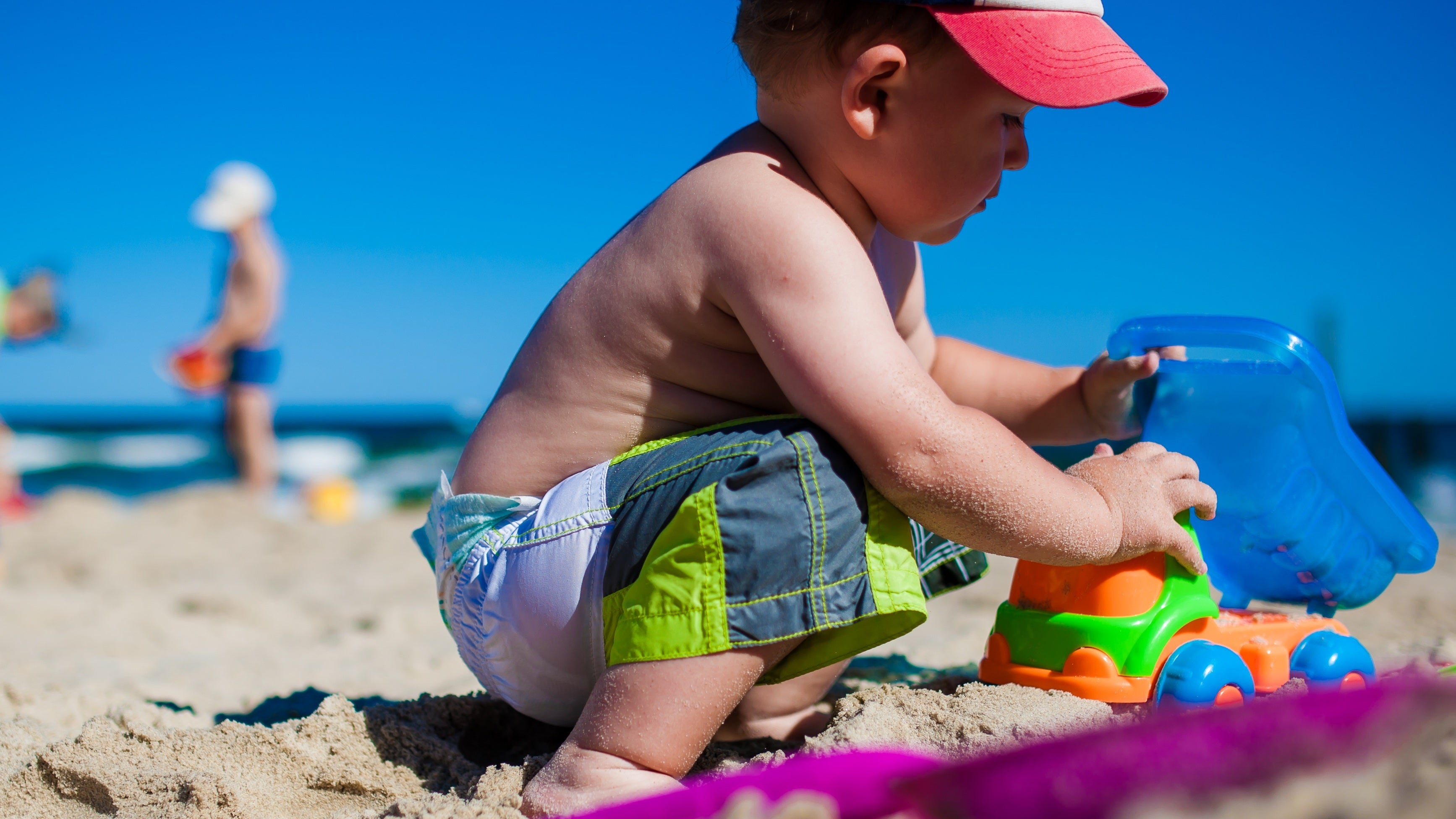 Before You Have Kids The Beach Is Easy Amble Down With Nothing But A Towel And Bottle Of Water Maybe Bring An Umbrella Stick It In Sand
