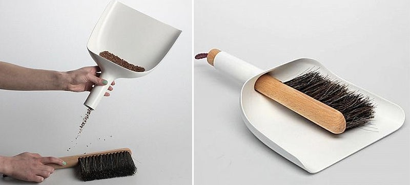 Dustpans Should Have Been Designed With Funnels From Day One