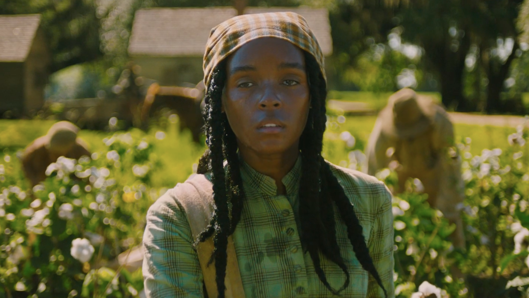 In Antebellum's First Trailer, Something Southern Is Hunting Janelle Monáe