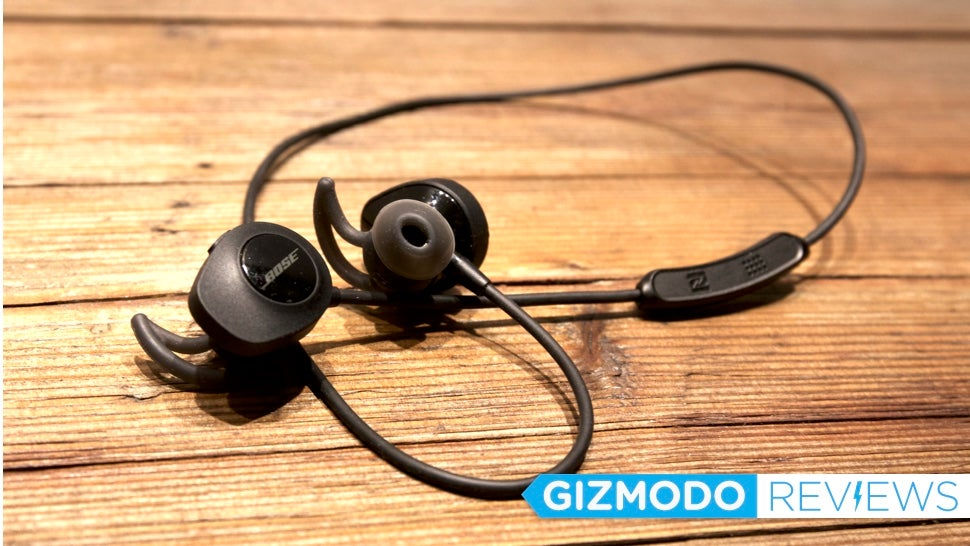 Bose SoundSport Wireless Earbuds: The Gizmodo Review