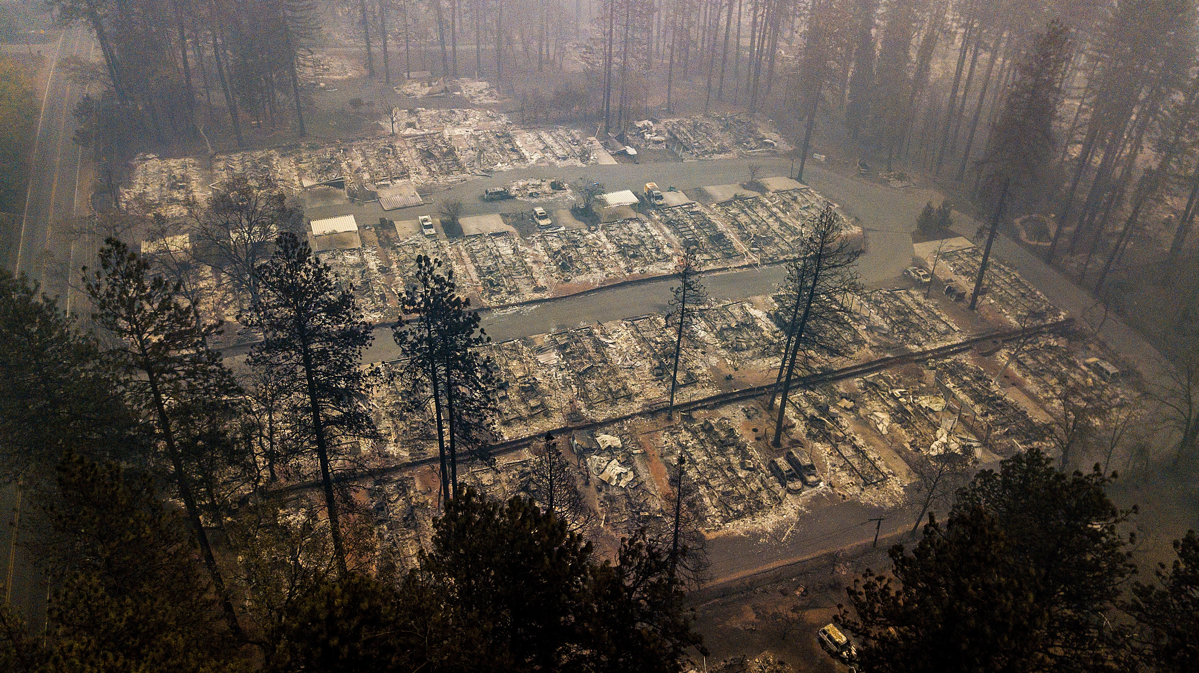 Rains May Help Fight The Camp Fire This Week – And Create A New Disaster