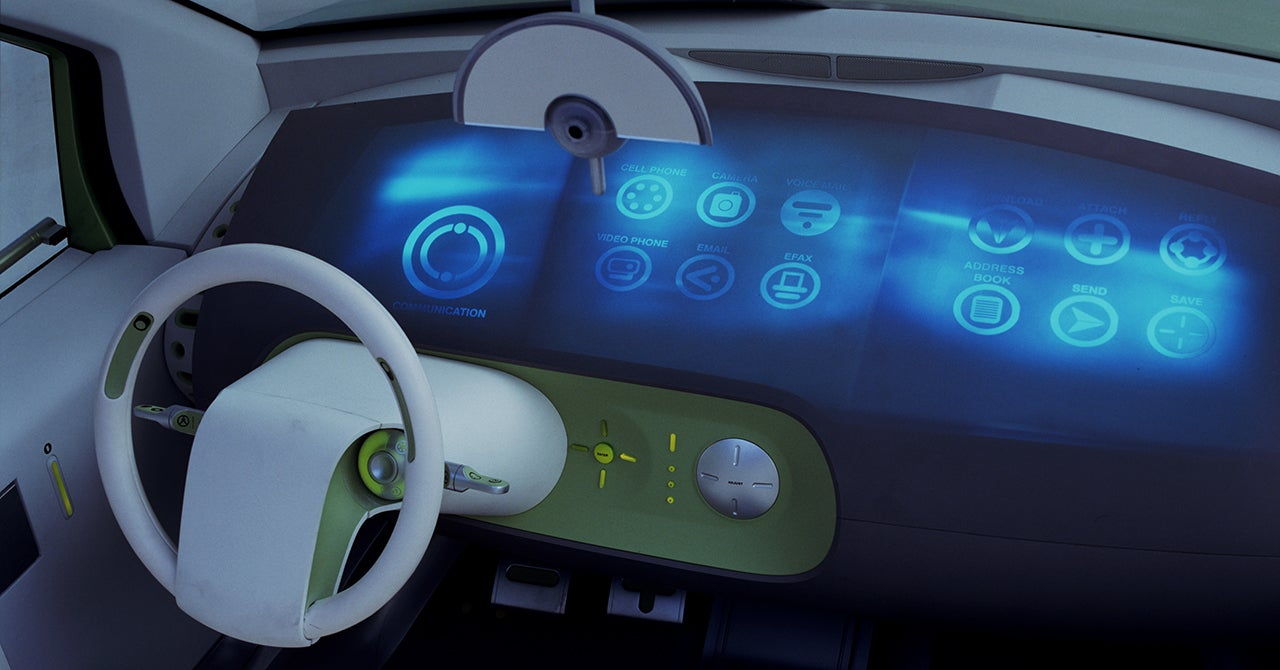 The Ford 24.7 Concept Car Predicted Apps Years Before Smartphones
