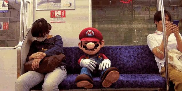 Smash Bros. Video Puts Mario In Real-Life Tokyo