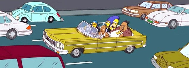 Madman catalogues every single real-world car used in The Simpsons