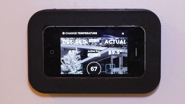 Build a Web Connected Thermostat with a Raspberry Pi and and an iPhone