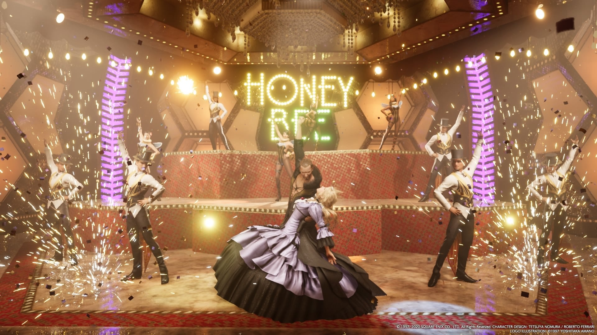 Final Fantasy VII Remake Gives Cloud's Honeybee Inn Makeover The Update It Needed