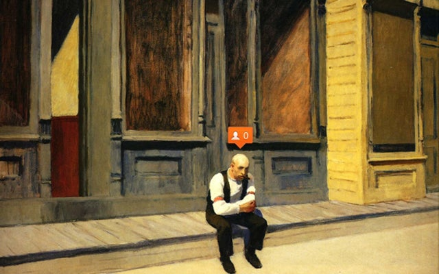 If Edward Hopper Used Instagram and Facebook