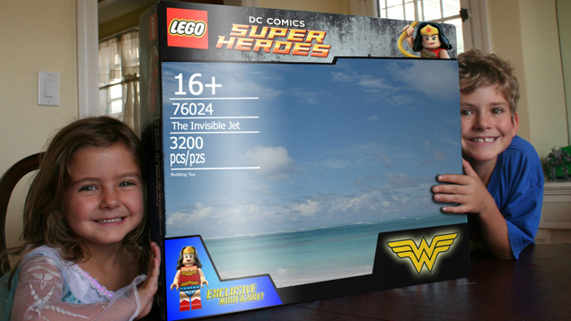 Cool Dad Builds The Best Version of Wonder Woman's Invisible Jet