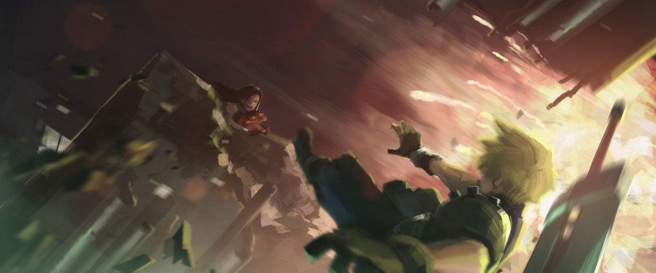 Artist Recreates Memorable Moments of Final Fantasy VII