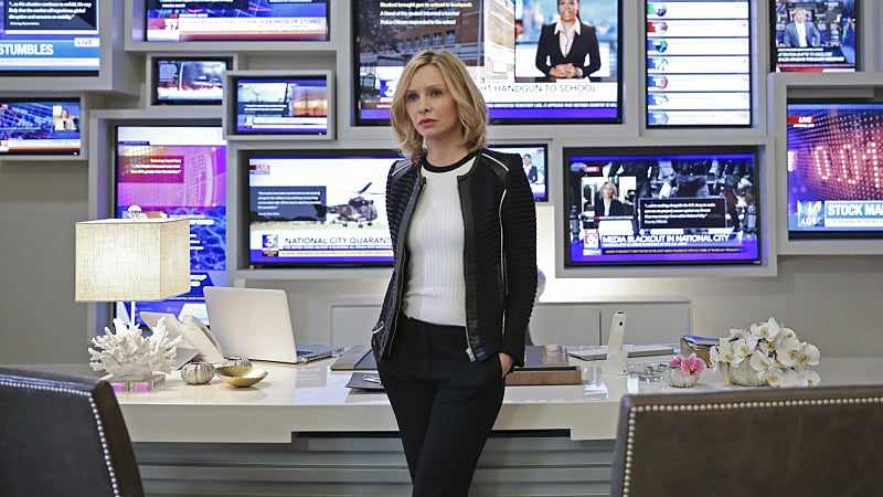 Forget Superman, Cat Grant Will Be In Supergirl's Season Two Finale