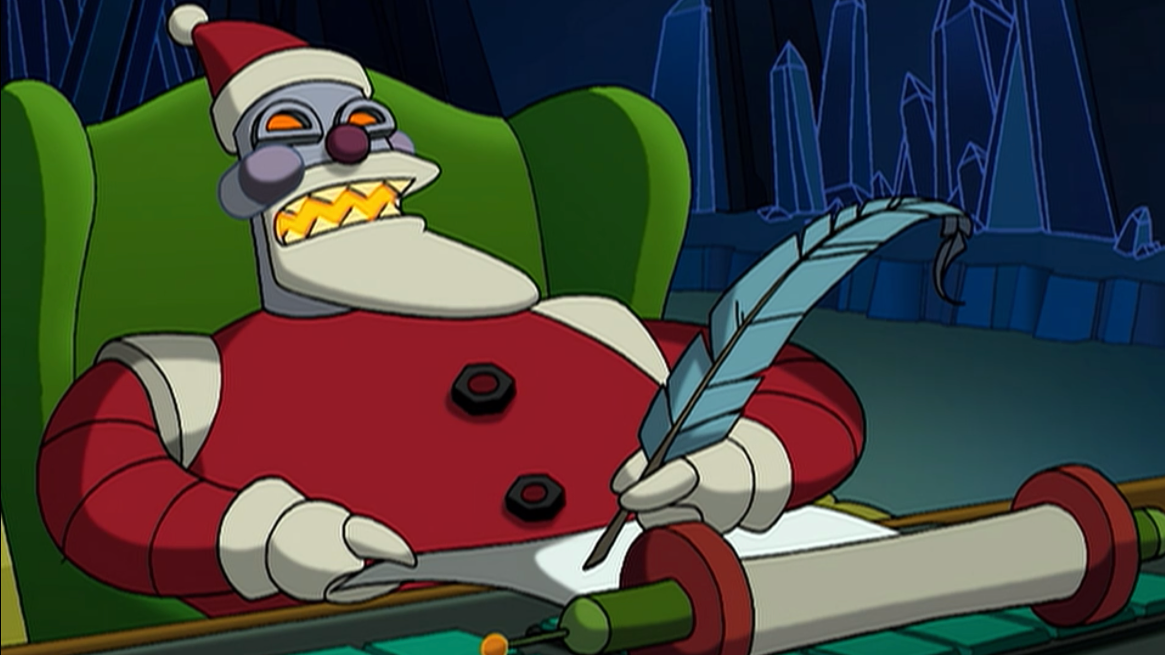 Robot Santas, Ranked