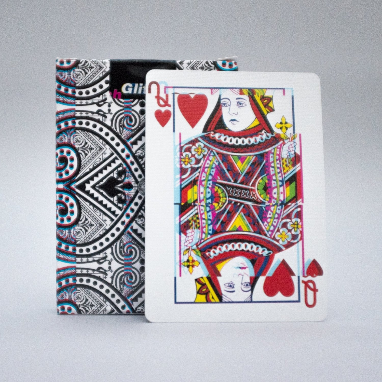 Get Trippy on Poker Night With These Glitch Playing Cards