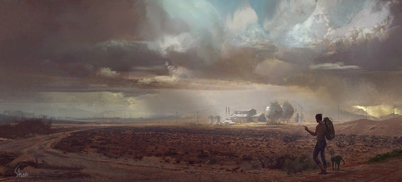 Logan's Forlorn Future Comes To Life In This Stunning Concept Art