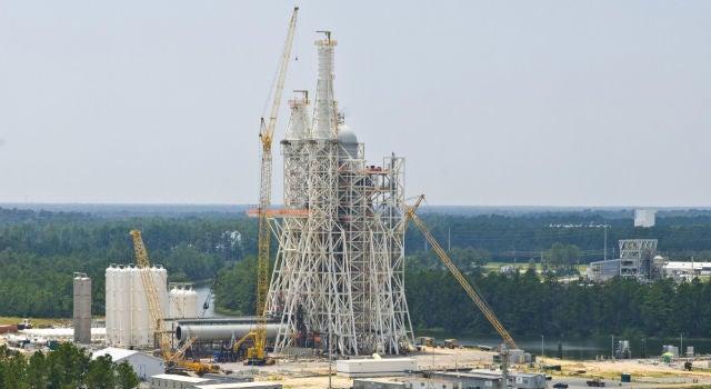 NASA Built a $US349 Million Test Tower, Then Immediately Shut It Down