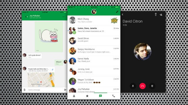 Hangouts for iOS Adds Google Voice Support, Location Sharing, and More