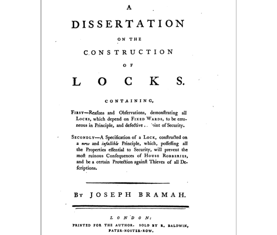 In 1851, A Man Picked Two Unpickable Locks and Changed Security Forever