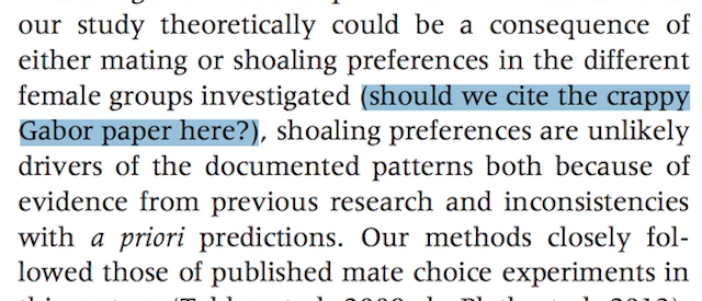 Another Reason Not to Trust Everything in Peer-Reviewed Journals