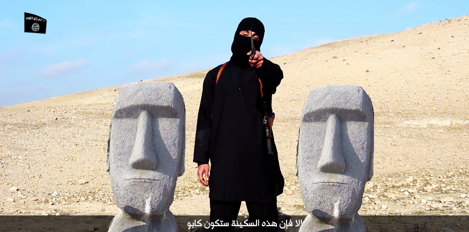 Japanese Twitter Users Stand Up to ISIS with...a Photoshop Meme