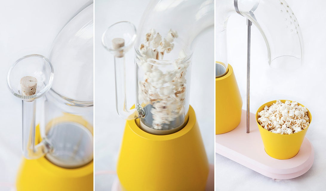 Skip the Microwave, the Popcorn Monsoon Makes Snacking a Spectacle