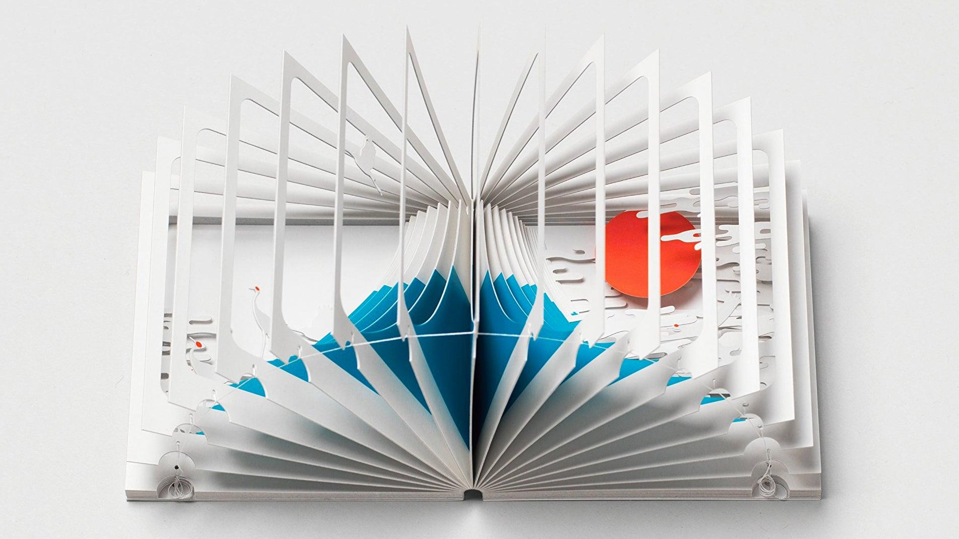Mount Fuji Is Hidden Inside this Elaborate 360-Degree Pop-up Book