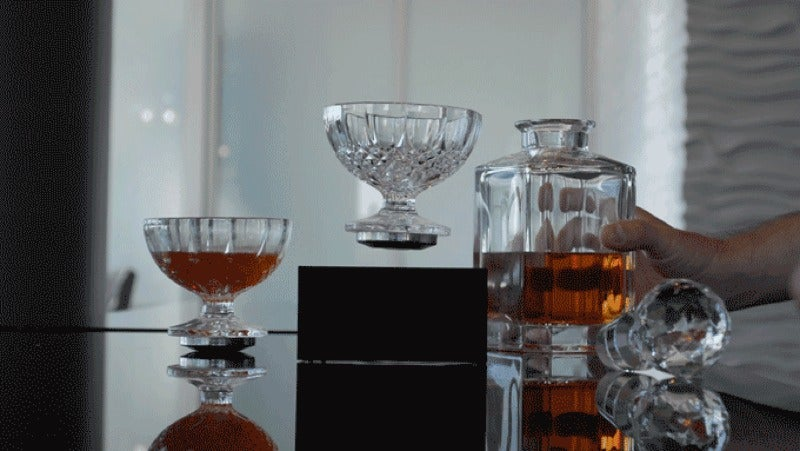Your Next Cocktail Could Defy Gravity With The Levitating CUP
