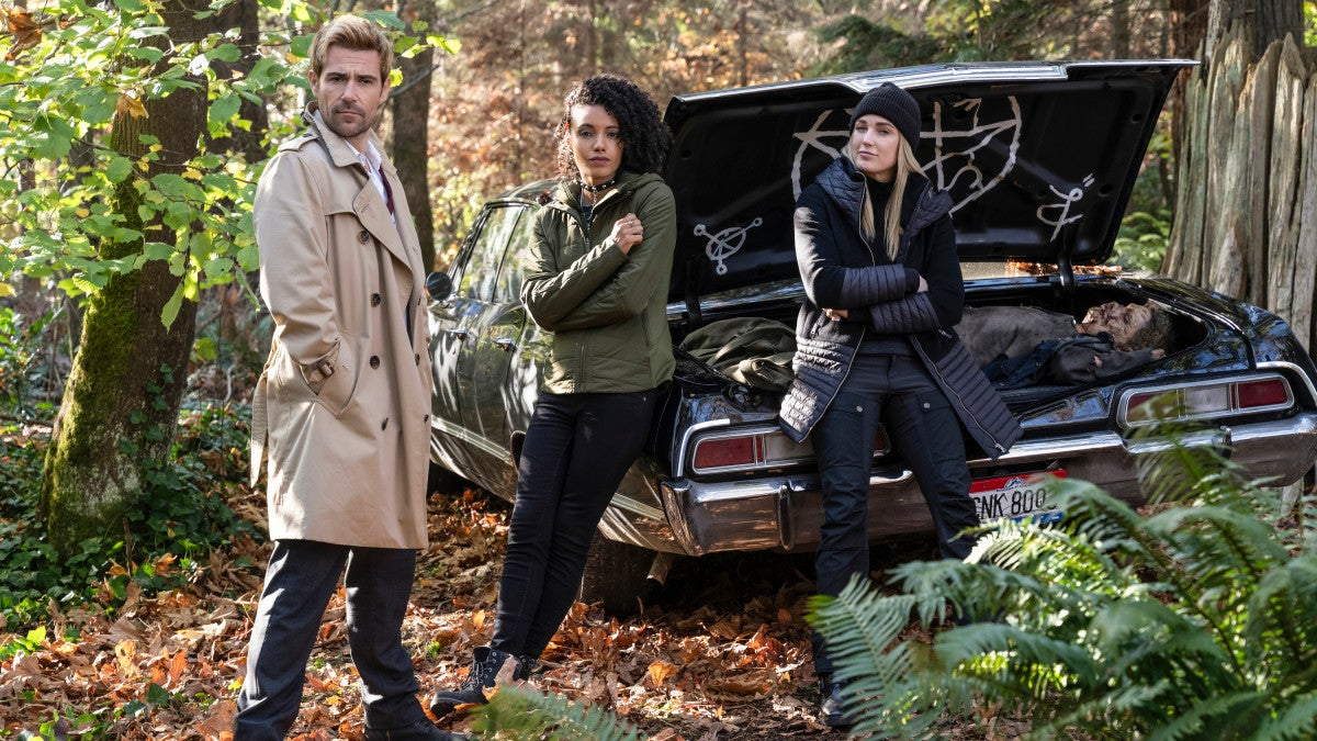 Supernatural Is Crossing Over With Legends Of Tomorrow… Via Car