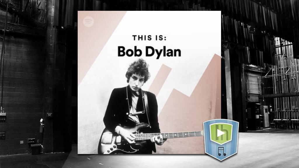 The Bob Dylan Playlist