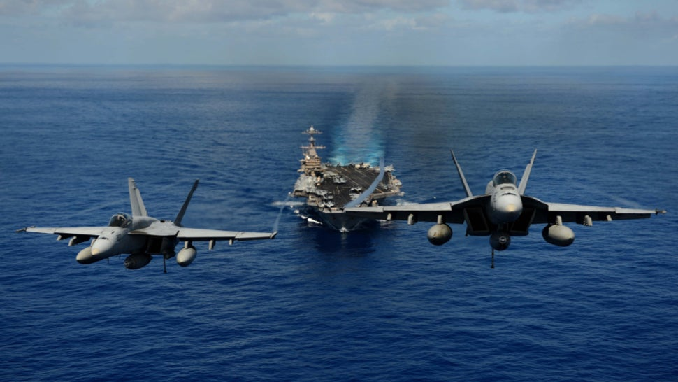 More Than Half Of The US Navy's Fighter Jets Can't Fly: Report