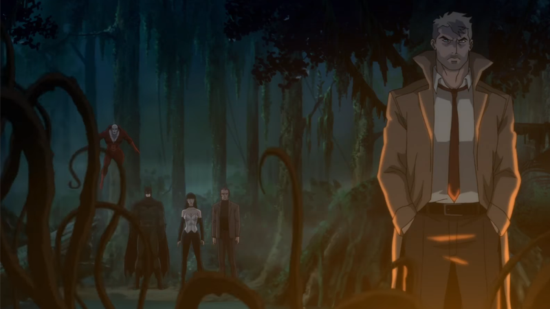 Demons Invade The DC Animated Universe In The First Trailer ForJustice League Dark