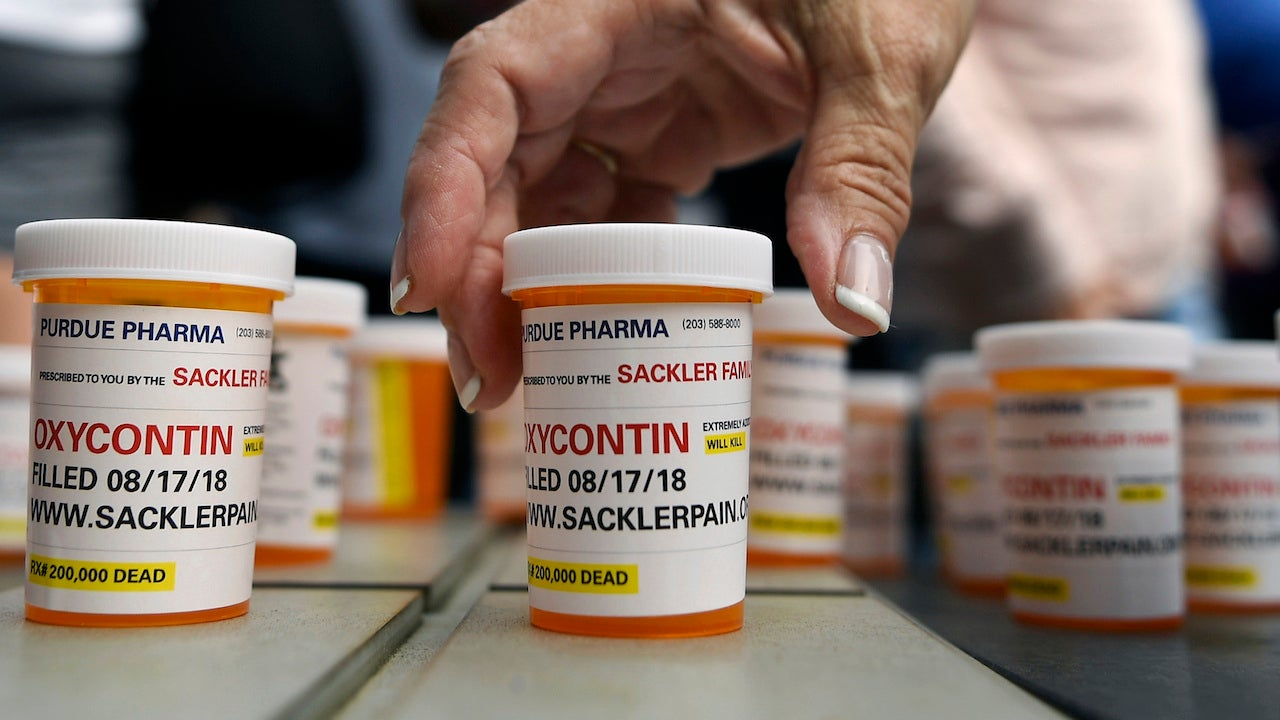 Purdue Pharma To Pay $379 Million As It Settles The First Of 1,600 Opioid-Linked Lawsuits