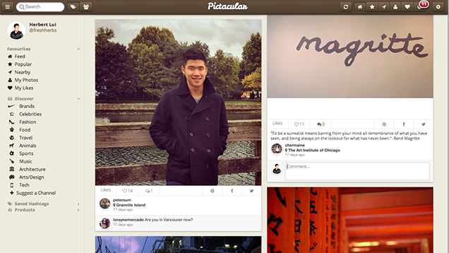 Pictacular Is A Powerful Instagram Photo Browser For The Web
