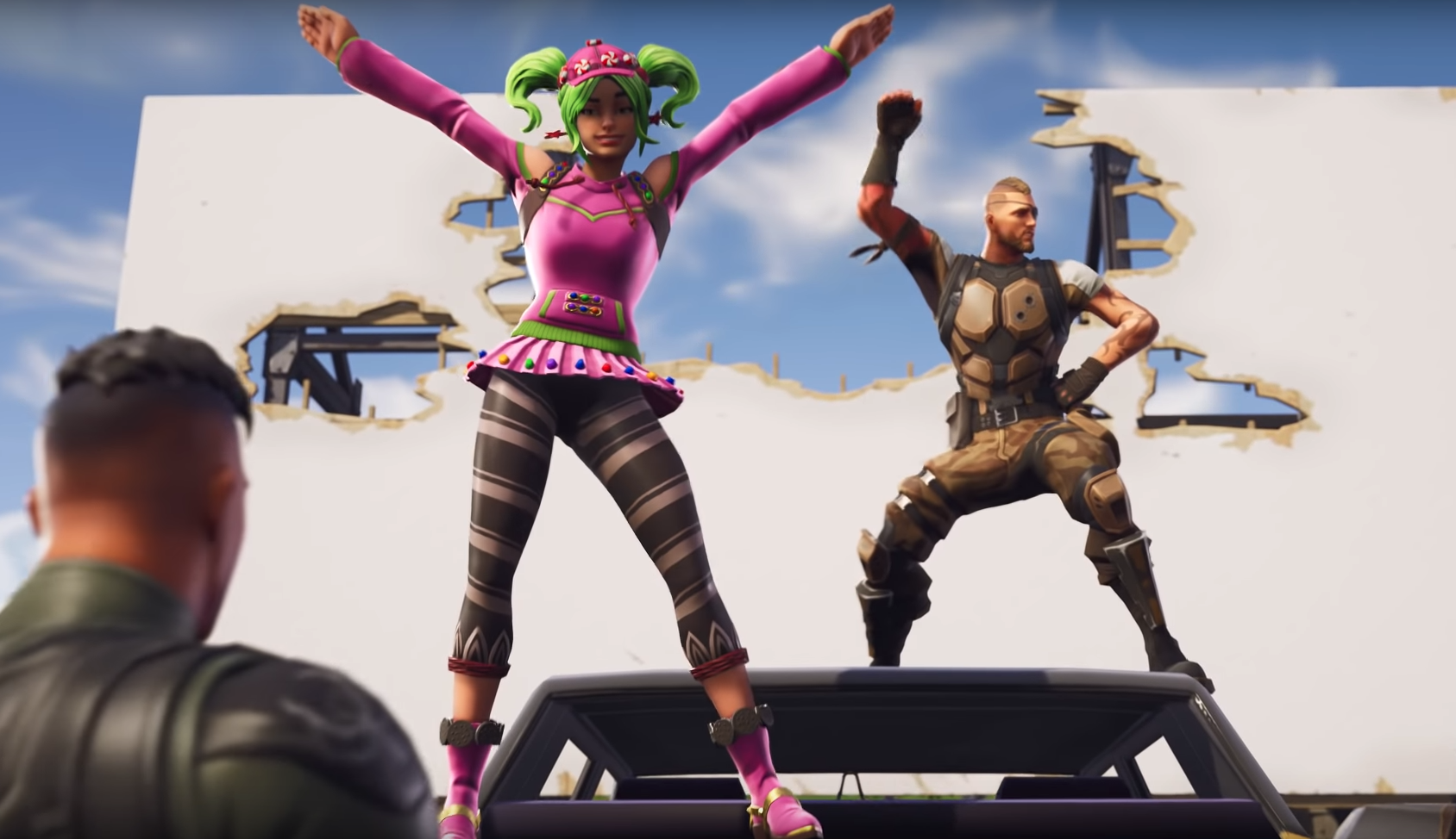 Fortnite's New Hop Rocks Are Making The Game Wild
