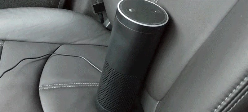 Hacker Turns On His Car With Amazon Echo