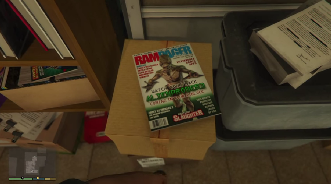 Grand Theft Auto V's Biggest Mystery Is Getting Even Weirder