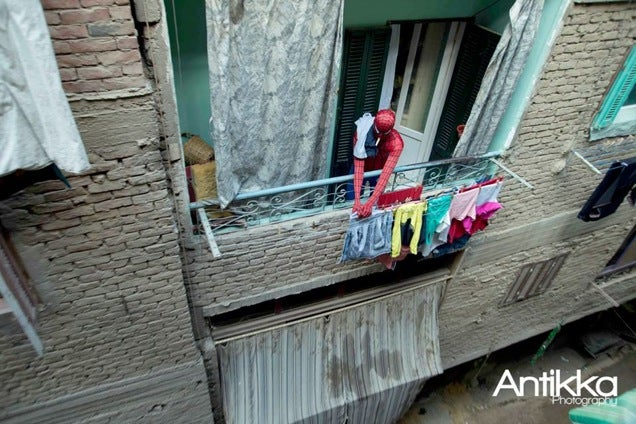 Spider-Man, Hanging Out in Cairo
